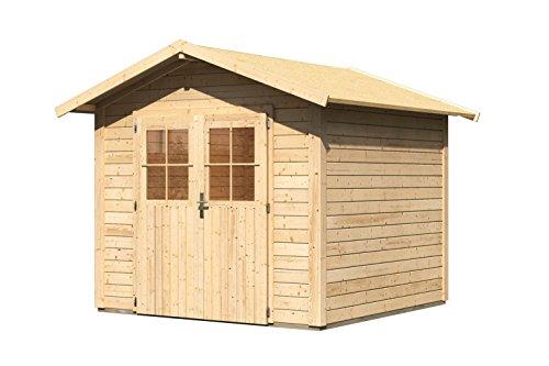 Karibu Woodfeeling Aktionshaus Linau 4 natur 28 mm