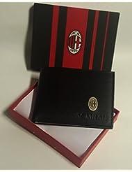 Portefeuille porte-monnaie A.C. Milan d'origine officiel produit Enzo Castellano
