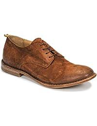 0d38f21b11c910 MOMA Oliver BRUCCIDIO Derby-Schuhe   Richelieu Herren Camel Derby-Schuhe