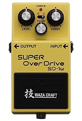 Boss-sD-verzerrer superOverdrive 1 w