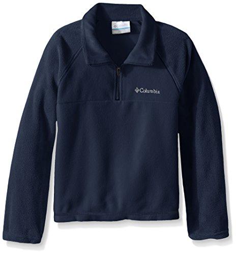 columbia-glacial-boy-de-deporte-1-2-zip-forro-polar-color-collegiate-azul-marino-xl