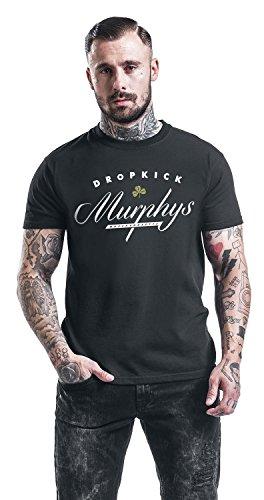 Dropkick Murphys Cursive T-Shirt schwarz Schwarz