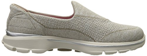 Skechers Performance Go Marche 3 Niche Walking Shoe Stone