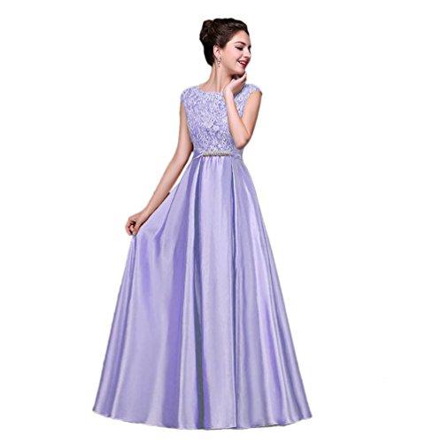 Vimans -  Vestito  - linea ad a - Donna Light Purple