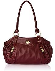 Fostelo Women's Swann Handbag Magenta (FSB-101)