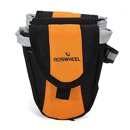 MXBIN Roswheel Fahrrad Mountainbike Taschen Multi-Funktions-Fahrrad-Taschen Werkzeuge zur Reparatur von Ersatzteilen (Color : Blue)