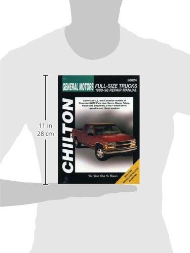 Chevrolet Pick-Ups (88 - 98) (Chilton) (Chilton total car care)
