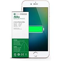 GIGA Fixxoo iPhone 6 Akku zum Wechseln bei Defekter Batterie, Einfache Installation, 100% Kompatibel mit Apple - (kein Set)
