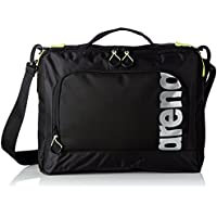 Arena Fast Coach Sports Bag Unisex Adult, Black/Fluorescent Yellow/Silver