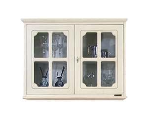 vitrine murale 2 portes meuble suspendu cuisine maison. Black Bedroom Furniture Sets. Home Design Ideas