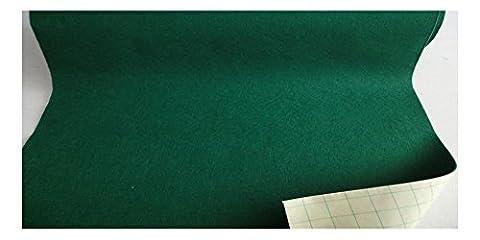 Fabrics-City grün 50Cm Breit~ Selbstklebend Wollfilz Stoff Klebefilze Stoffe, 2735
