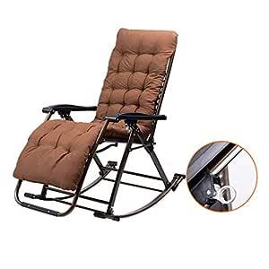 Progetto Sedia A Dondolo.Rocking Chair Sedia A Dondolo Health Uk Metallo Pieghevole Con