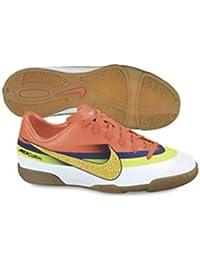 Nike Jr Mercurial Vortex CR IC - Zapatillas de fútbol sala para niño, color blanco / naranja / amarillo