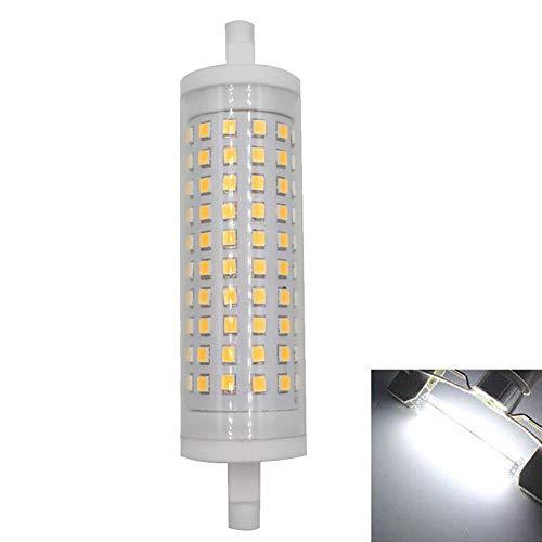 ROKF Ampoule halogène, Ampoule LED R7s 118 mm Dimmable Projecteur à Double extrémité Lumière de maïs pour Atelier, scène, Studio, éclairage Domestique, Cool White 6000k, dimming 230v