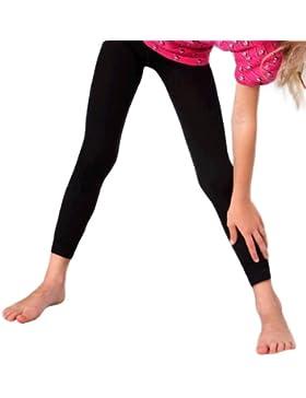 Fibrotex Kinder-Leggings 370 TB lang (146-152 cm, orange)