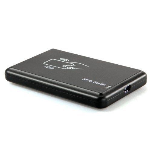 Neuftech RFID Lecteur de Carte USB ID Carte Clé RFID avec 5pcs Clé Proximité pour EM4100