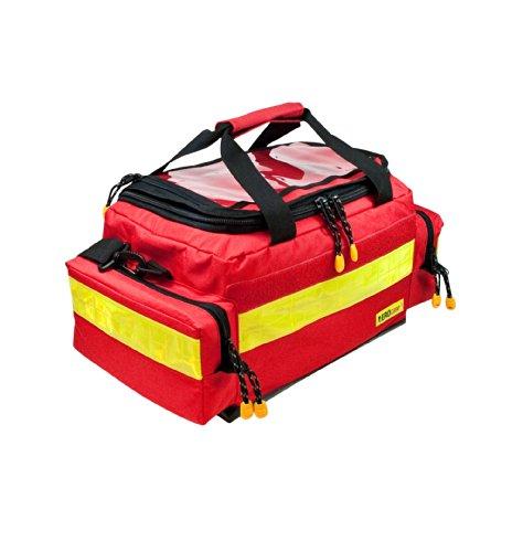 AEROcase® - Pro1R BM1 - Notfalltasche Polyester Gr. M ROT - Rettungsdienst Notfall Rucksack -