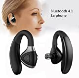 Xshuai 2107 Neues Design Hochleistungs-Mikrofon Wireless Bluetooth 4.1 Niedriger Verbrauch Headset Multi-Point Sport Stereo Kopfhörer Kopfhörer für Kompatibel Apple iPhone iPad, Samsung, HTC, LG und andere Handys iPhone MI (Schwarz/Silber) (Silber)