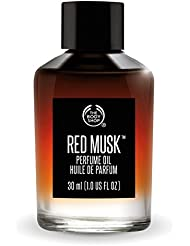 The Body Shop Rot Moschus Parfümöl 30ml *** Frei von Alkohol *** The Body Shop Red Musk Perfume Oil 30ml ***ALCOHOL FREE***