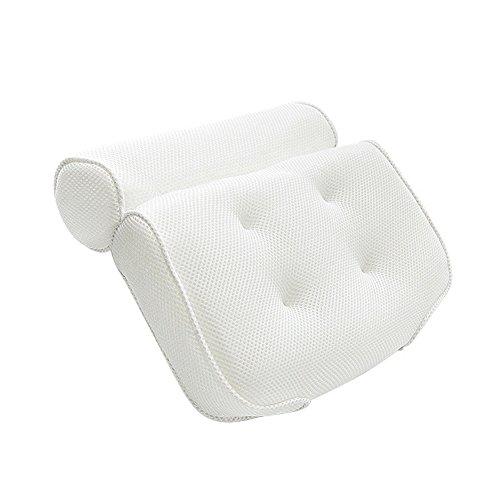 Ljxiioo cuscino da bagno termale, design per supporto collo a spalla. adatto a qualsiasi dimensione vasca,1pcs