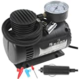 Bolditech Portable Electric Mini DC 12V Air Compressor Pump for Car and Bike Tyre Tire Inflator