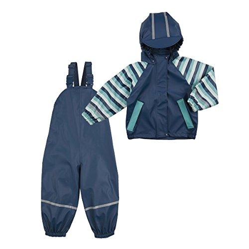 BORNINO Regenanzug Baby-Regenbekleidung, Größe 86/92, blau