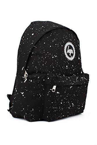 Hype Rucksack Tasche - Verscheidene Farben schwarz / weiß