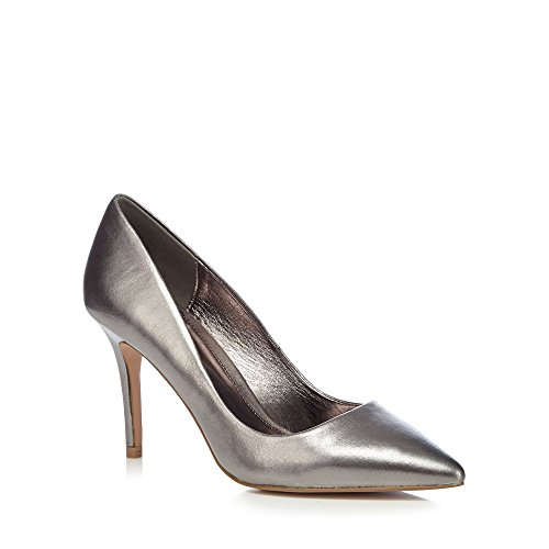 Debenhams J By Jasper Conran Silver Leather 'Joss' for sale  Delivered anywhere in UK
