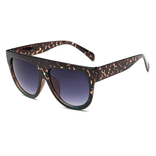 YKDDGG Mode-Accessoires Sonnenbrillen Mode Vintage Flat Top Sonnenbrille Frauen Shades Sonnenbrille Für Weibliche Uv400C06