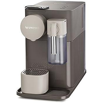 Nespresso DeLonghi Lattissima One EN500BW - Cafetera monodosis de cápsulas Nespresso con depósito de leche compacto, 19 bares, apagado automático, ...