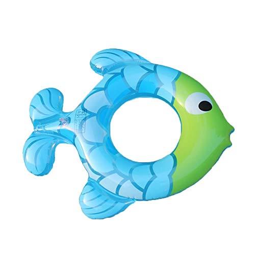 Acqua gonfiabile forma di pesce seduta swim ring estate piscina portatile spiaggia piscina galleggiante decorazione coppia di bambini adulti