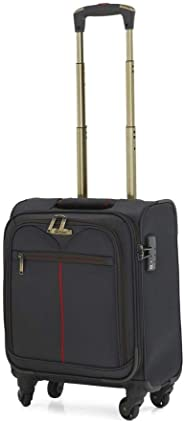 Senator EVA Soft Carry-On Pilot Case 16 Inch Grey GM12082WA
