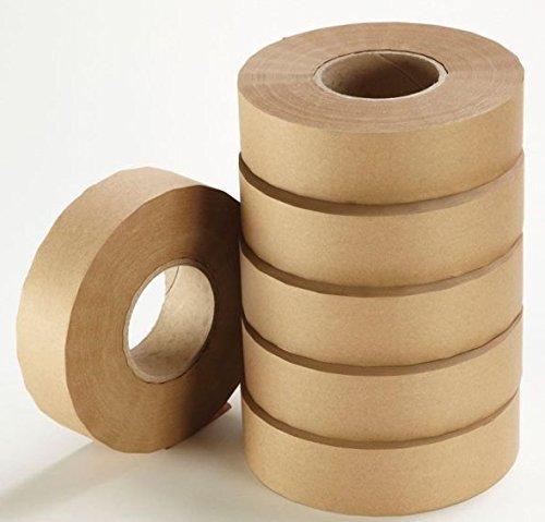 loxley-36mm-x-200m-braun-gumstrip-roll-gummiert-kleber-dichtband