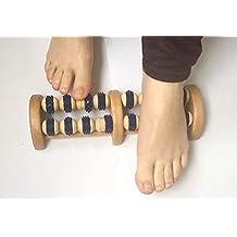 Massaggiatore per piedi in legno
