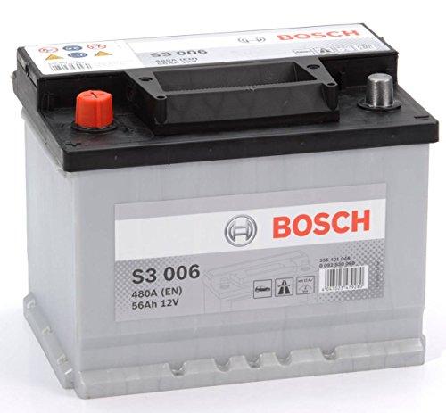 Bosch S3 006 Batteria Auto 12V 56Ah 480A/EN