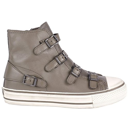 Ash Schuhe (Ash Schuhe Virgin Perkish Sneaker aus Leder Damen 40 EU Perkish)