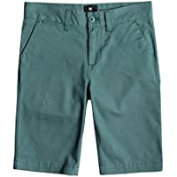 DC Shoes Worker Chino Shorts, Niños, Deep Sea-Solid, 30/16