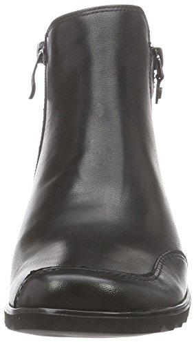 Bottes Motardes schwarz femme Ara 61 Noir Andros UHqC7C