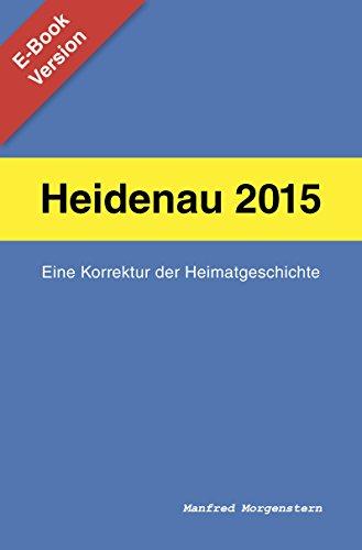 Heidenau 2015: Eine Korrektur der Heimatgeschichte
