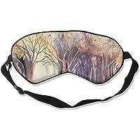 Winter Forest Trees Sleep Eyes Masks - Comfortable Sleeping Mask Eye Cover For Travelling Night Noon Nap Mediation... preisvergleich bei billige-tabletten.eu