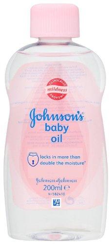 Johnson bebés aceite 200 ml juego unidades 6