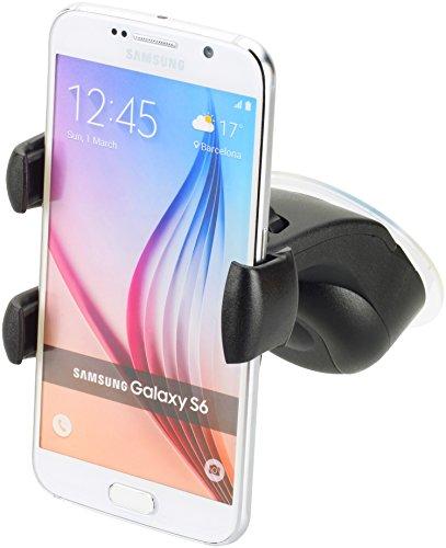 Smart-Planet® hochwertige Autohalterung / KFZ Halterung Halter für die Autoscheibe - für alle Smartphones / Handys mit Breite 5,8 bis 8,3 cm - für z.B. iPhone 7 SE 6 , Galaxy S7 A3 A5 (2016 2017)