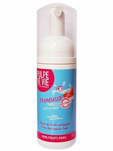 Pulpe de Vie - PV6 - Frimousse - Mousse de Fruits - Nettoyante et Démaquillante Visage - 125 ml