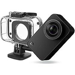 """MadridGadgetStore Xiaomi Cambra Original Action Camera 4K Ultra HD Vídeo Pantalla Tàctil 2,4"""" 12MP LCD 12 Mega píxels del sensor Wi-Fi Bluetooth Sony + Carcassa Oficial Impermeable Submergible 40 metres"""