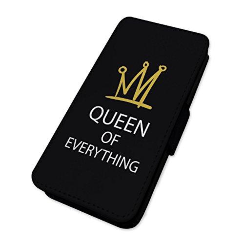 Königin von alles–Sie Krone–Flip-Telefon Schutzhülle Samsung Galaxy S7 (Krone Telefon)