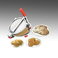A To Z Sales (Calico Kitchen Life Style) Stainless Steel Puri Press Large/ Puri Machine - Special Use For Making Puri