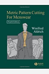 By Winifred Aldrich Metric Pattern Cutting for Menswear (4th Edition) [Hardcover] Hardcover