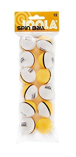 JOOLA TT-Ball Spinball, Weiß-Orange, 40 mm, 42185