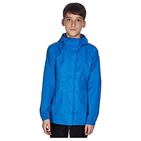 Peter Storm Kids Parka-in-a-Pack, Blue, Age 9-10