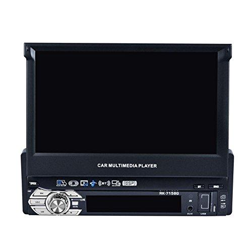 Prettygood7 17,8 cm (7 Zoll) HD Flip Up GPS Navigation Auto Stereo MP3 Player Karte für Europa